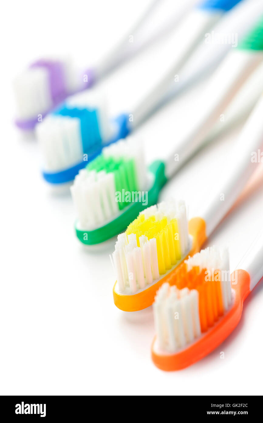tooth brush toothbrush - Stock Image