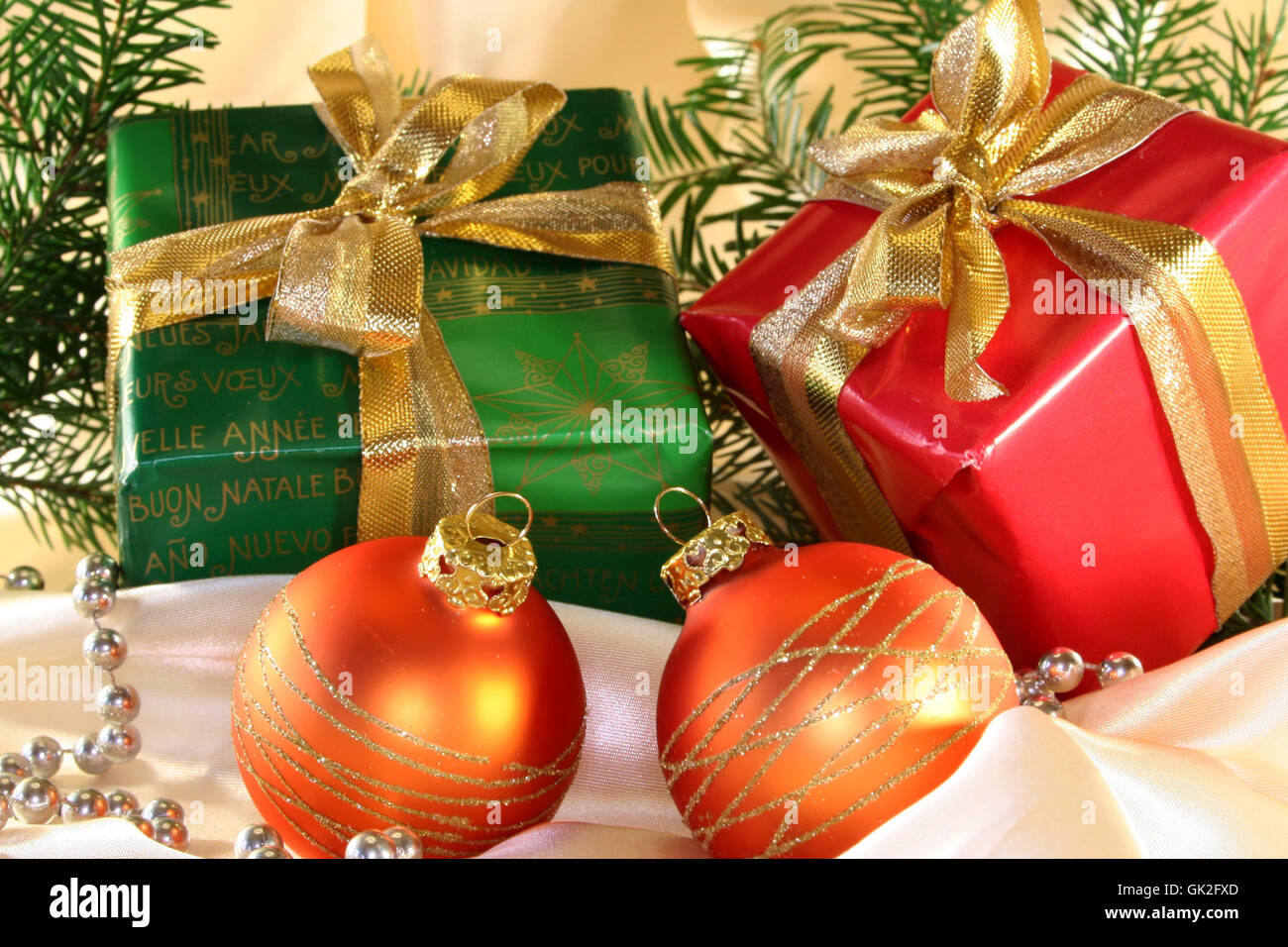 advent gift donate - Stock Image