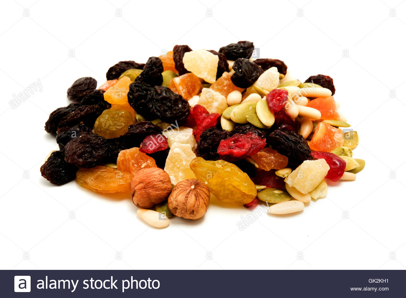 progenies fruits dried - Stock Image