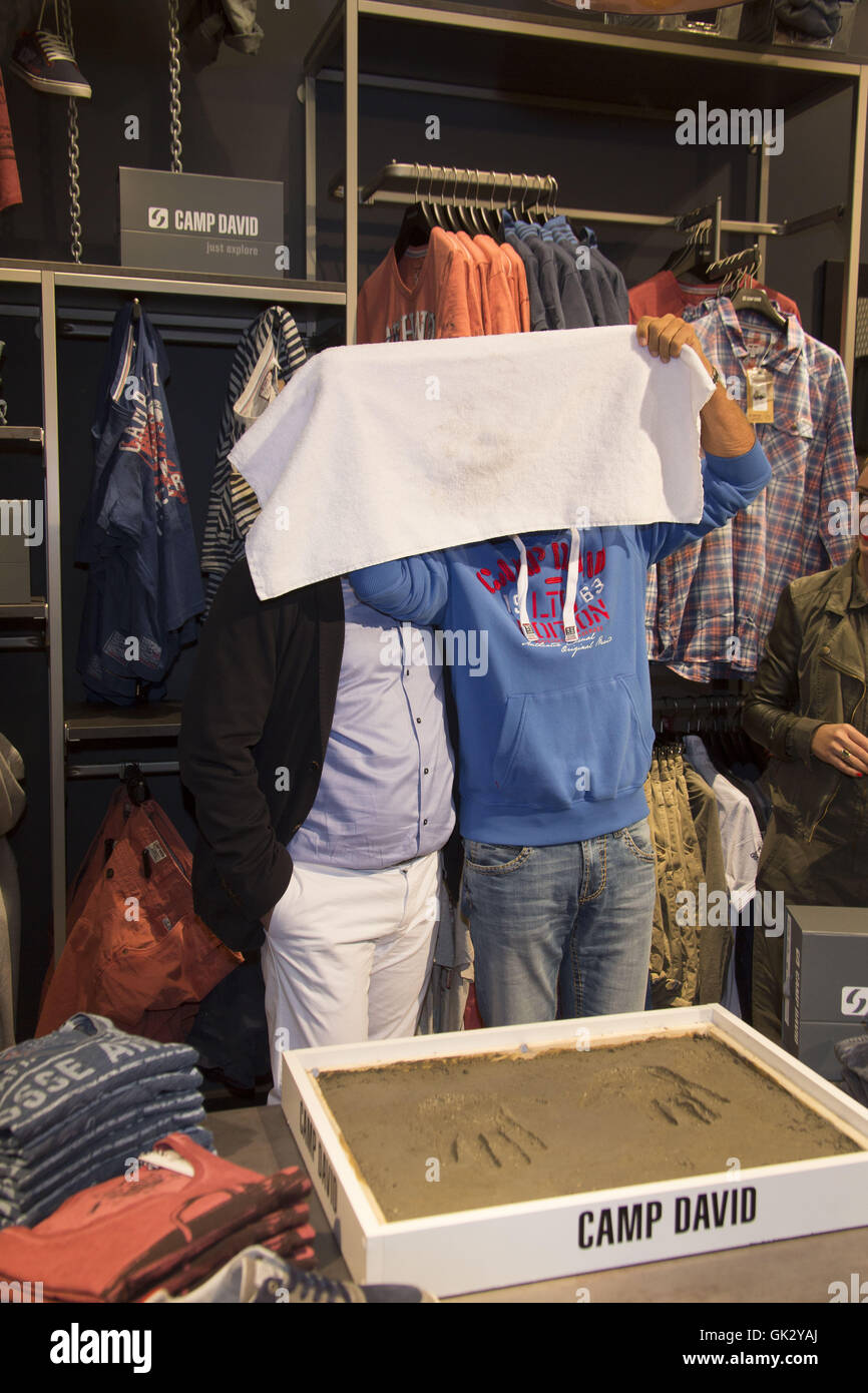 latest design new york factory authentic Dieter Bohlen opens the new store of Camp David