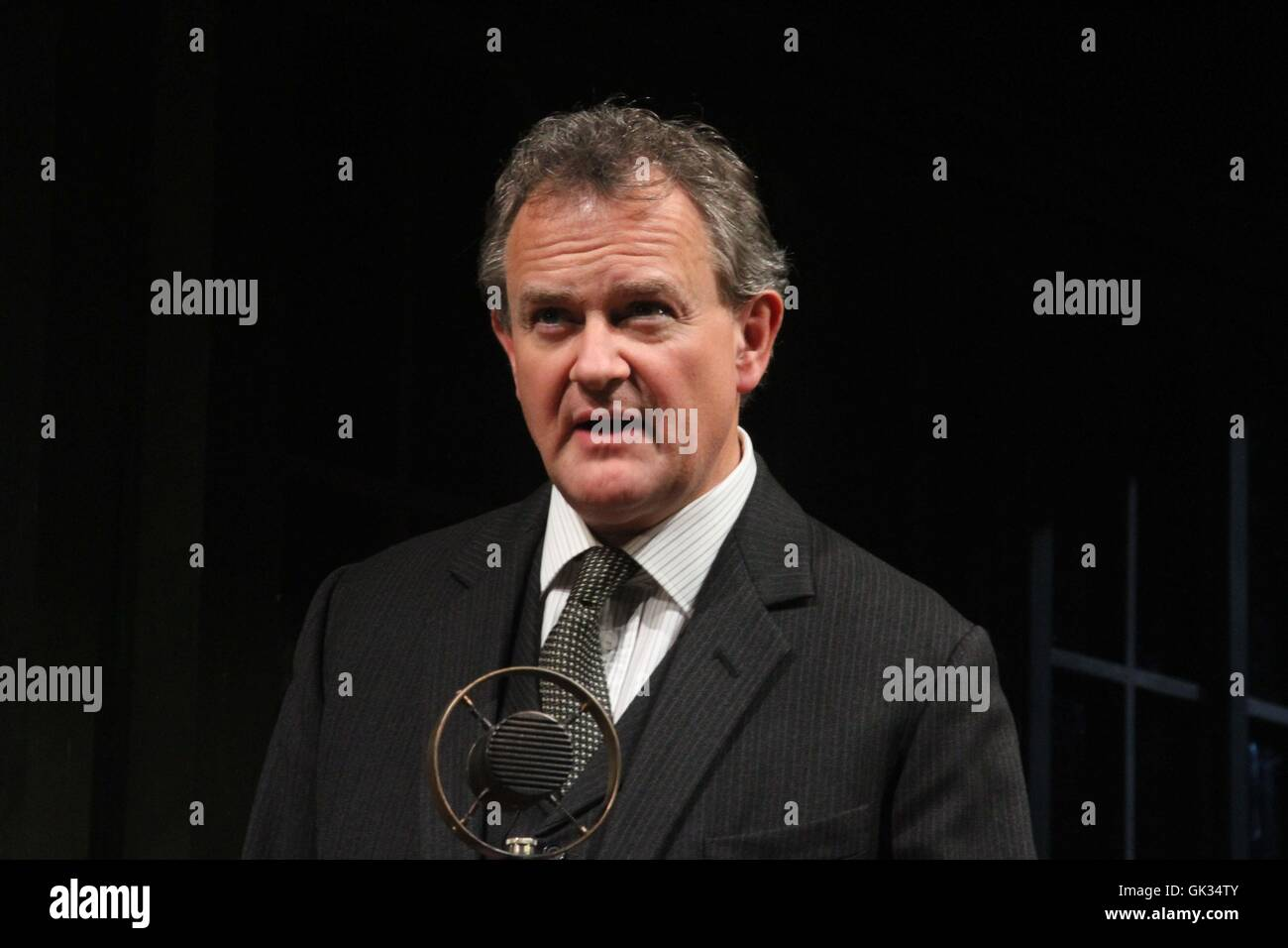 Hugh Bonneville stars as Dr. Stockmann in Henrik Ibsen's 'An Enemy of the People' at The Chichester - Stock Image