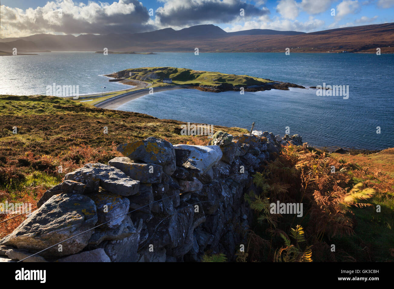 Loch Eriboll in North West Scotland - Stock Image
