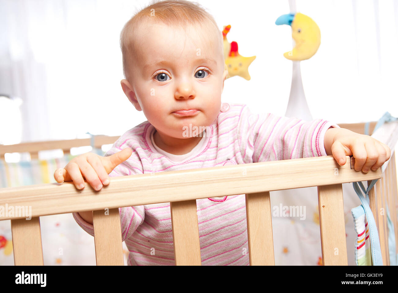 baby hand hands - Stock Image
