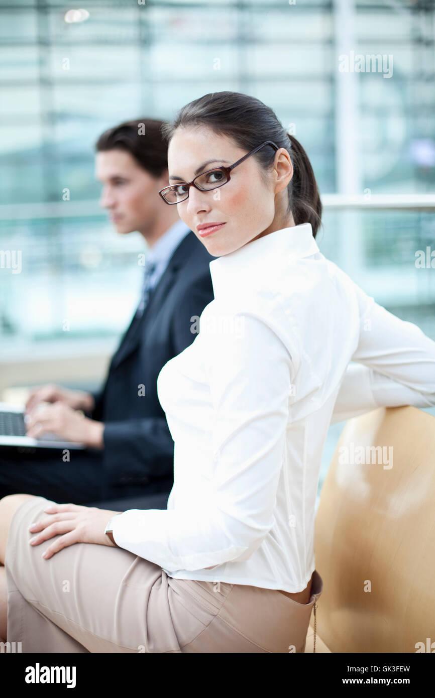 woman man woman - Stock Image