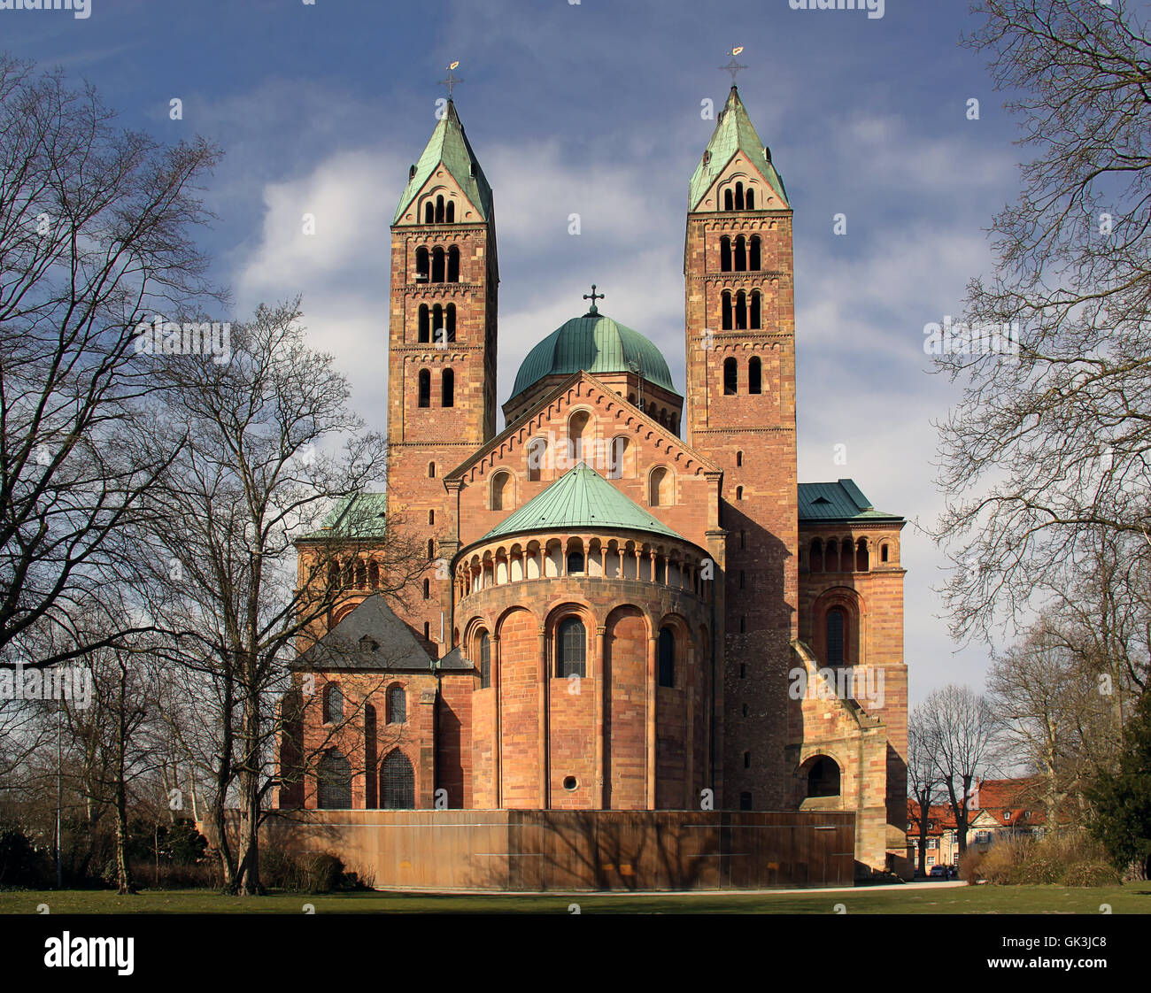 speyer cathedral - Stock Image