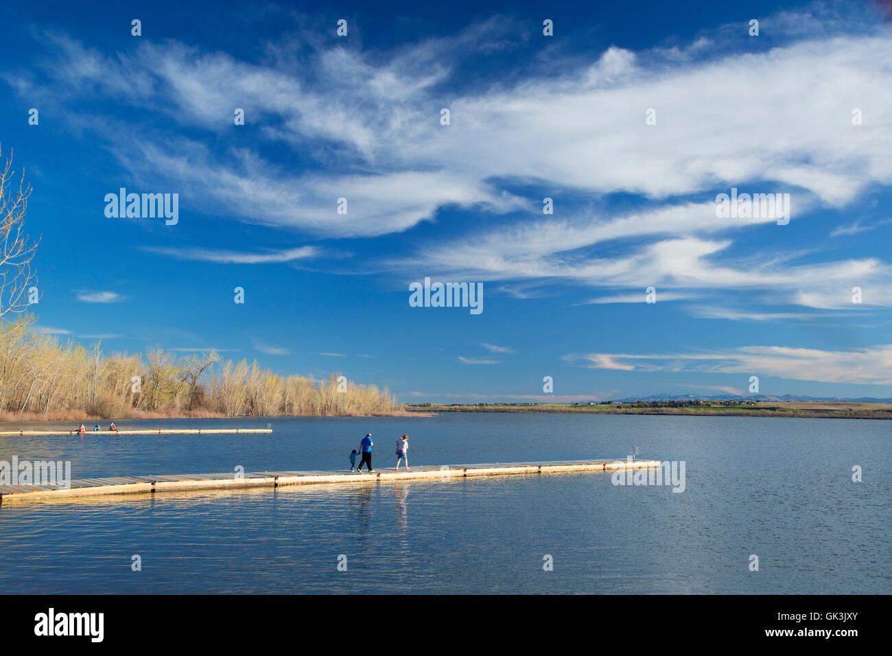 Lake Lowell, Deer Flat National Wildlife Refuge, Idaho - Stock Image