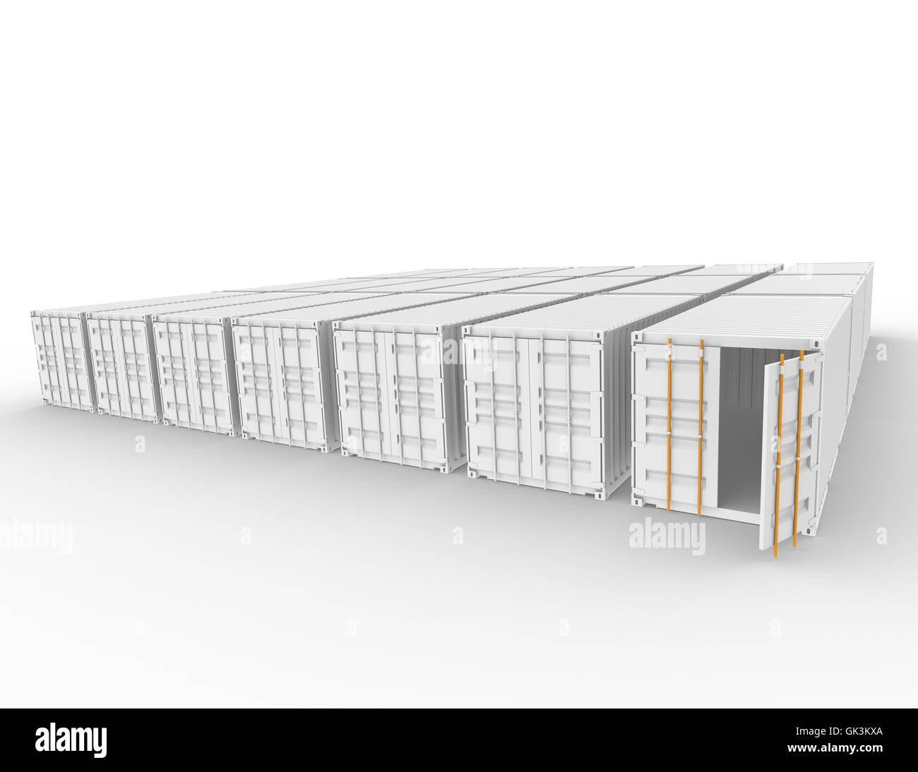 order logistics empty - Stock Image