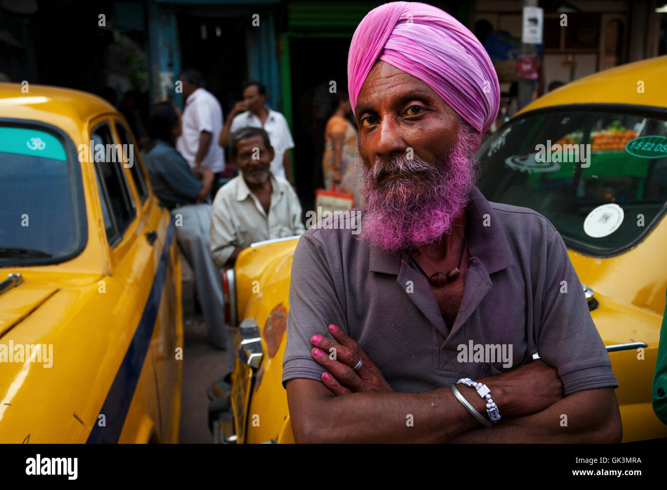 10 Mar 2012, Calcutta, Bengal, India --- Calcutta, West Bengal, India --- Image by © Jeremy Horner - Stock Image