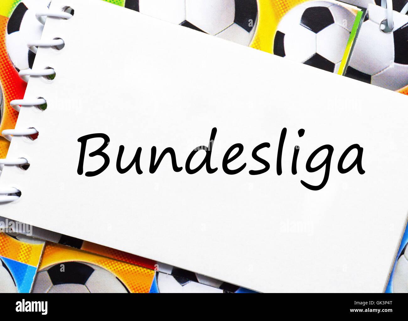 soccer bundesliga - Stock Image
