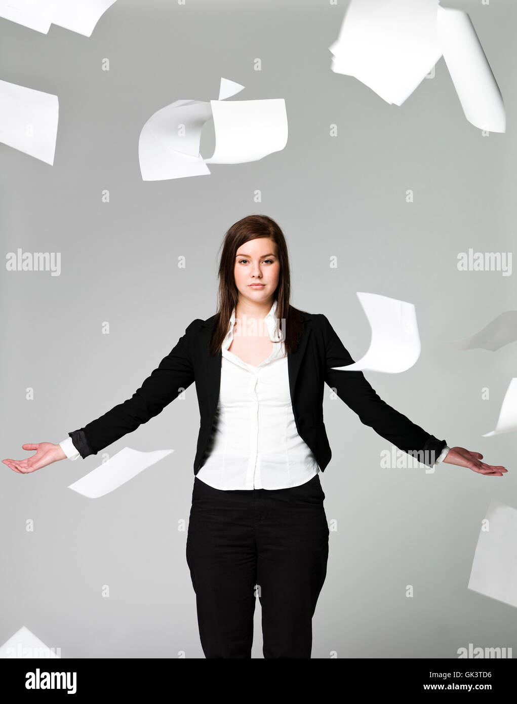 woman office studio - Stock Image