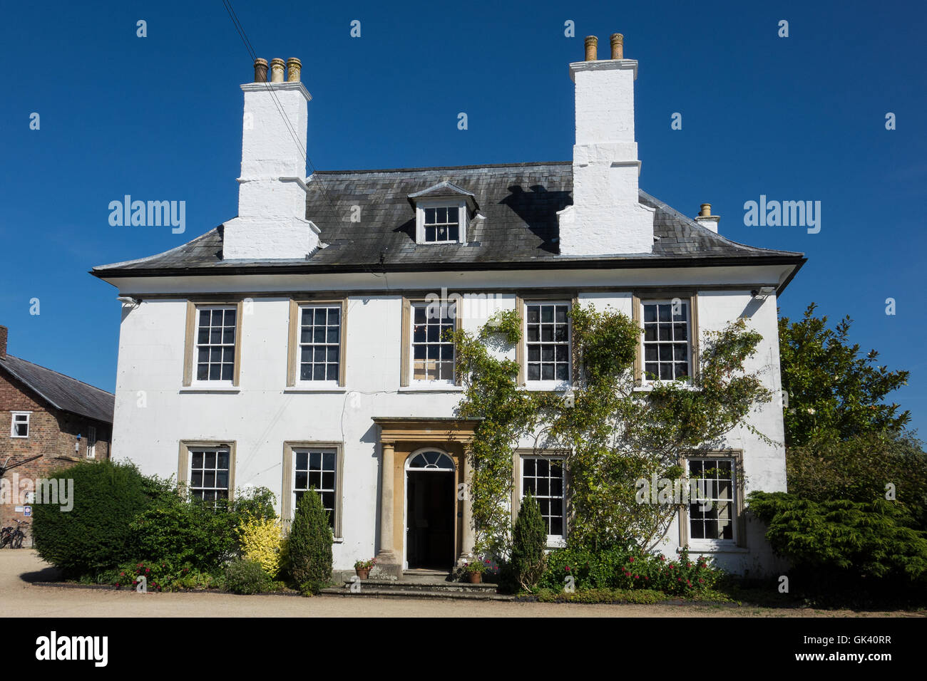 England, Gloucestershire, Berkeley, Dr. Jenner's house - Stock Image
