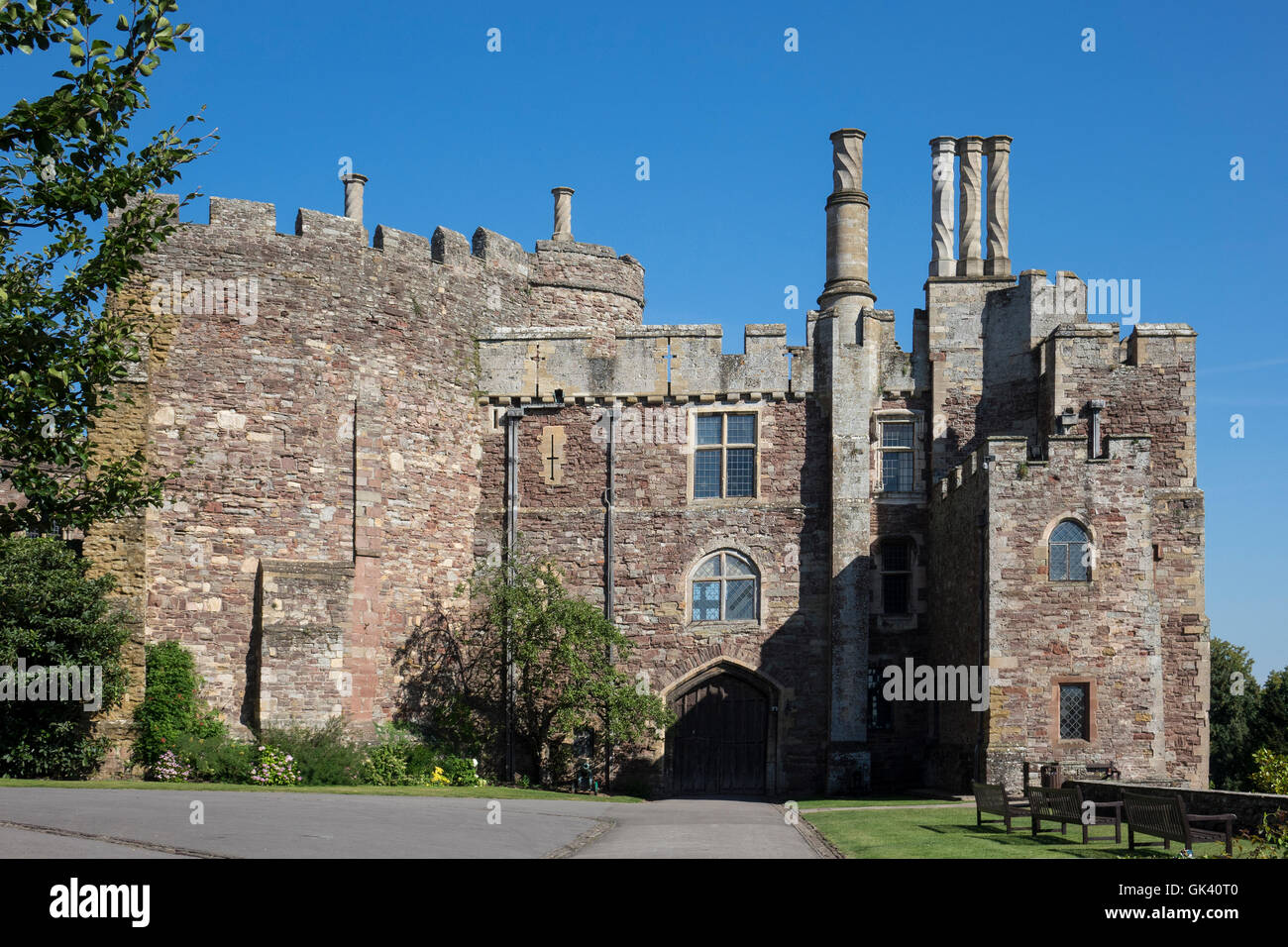 England, Gloucestershire, Berkeley castle - Stock Image