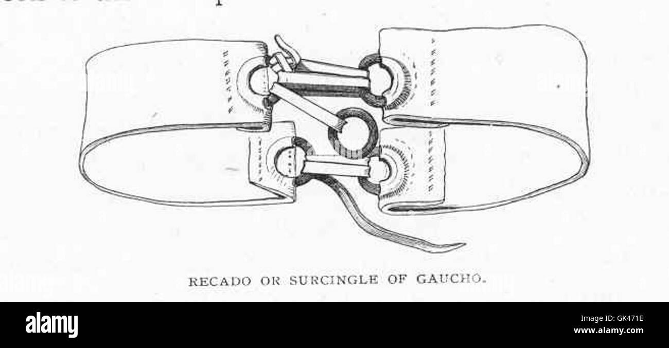 47248 Recado or Surcingle of Gaucho