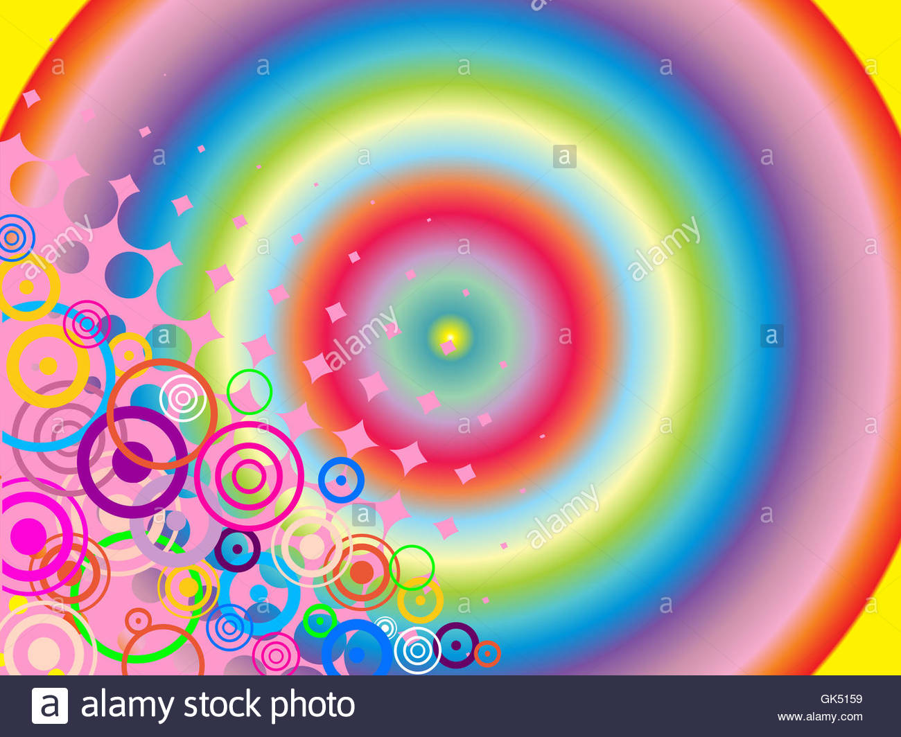 abstract graphic - design - Stock Image