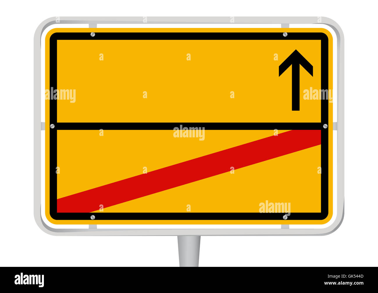 sign signal place - Stock Image