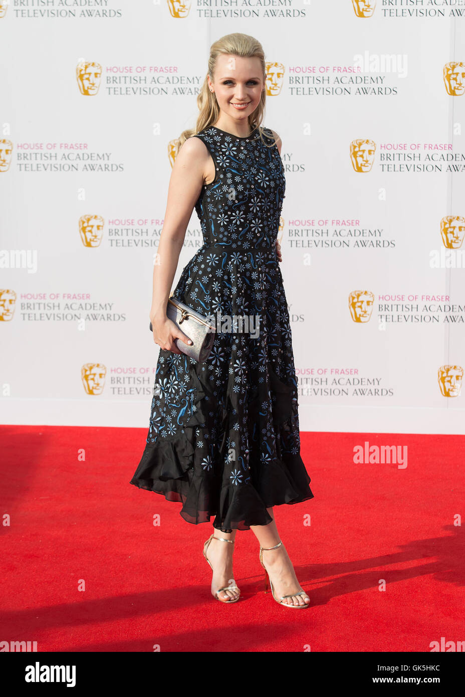 The House of Fraser British Academy Television Awards 2016 held at the Royal Festival Hall - Arrivals  Featuring: Stock Photo