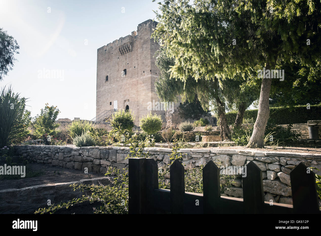 Kolossi Castle in Cyprus. - Stock Image