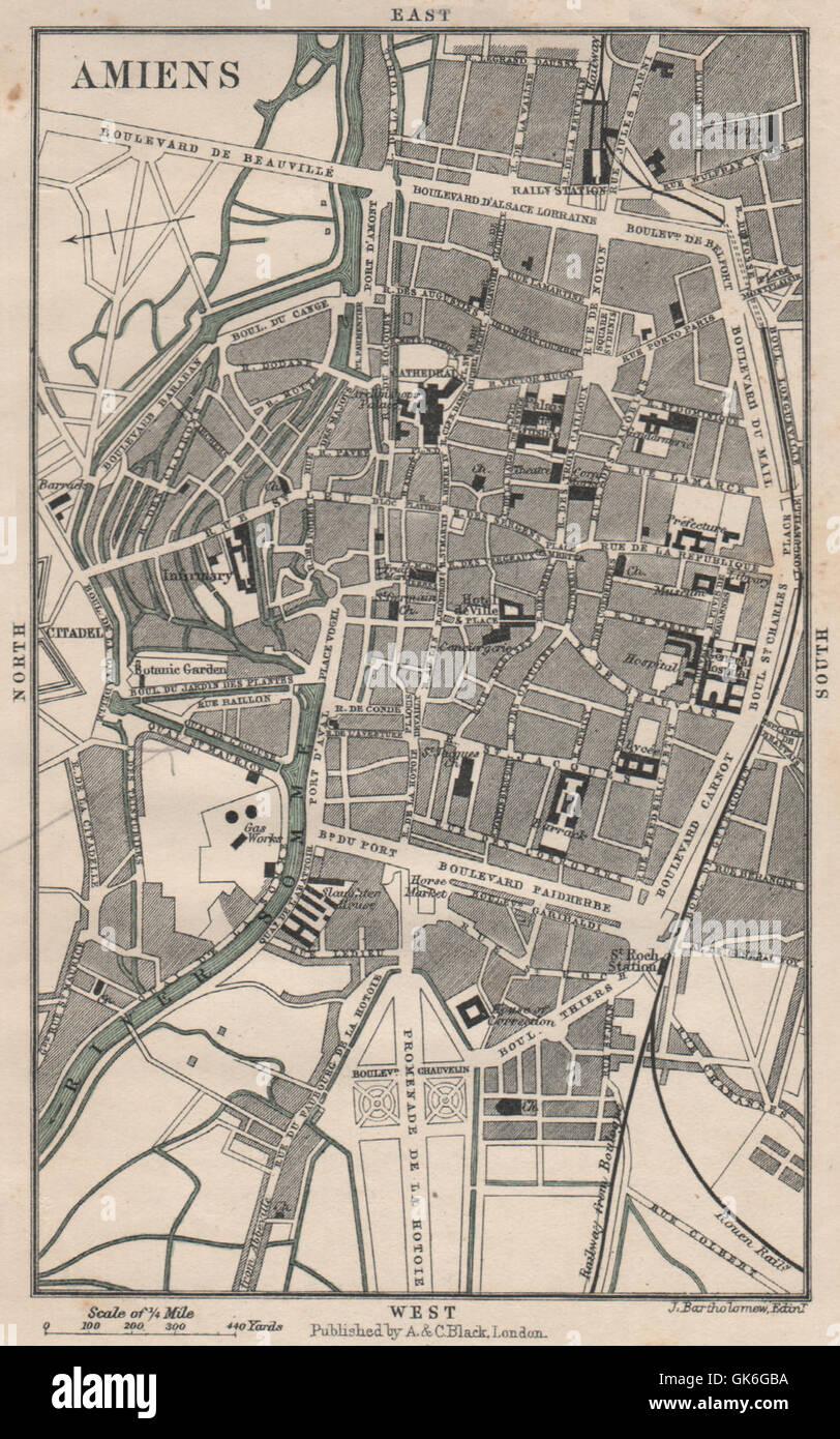 Var 1890 Old Map Chart Art HyÈres Antique Town City Plan De La Ville