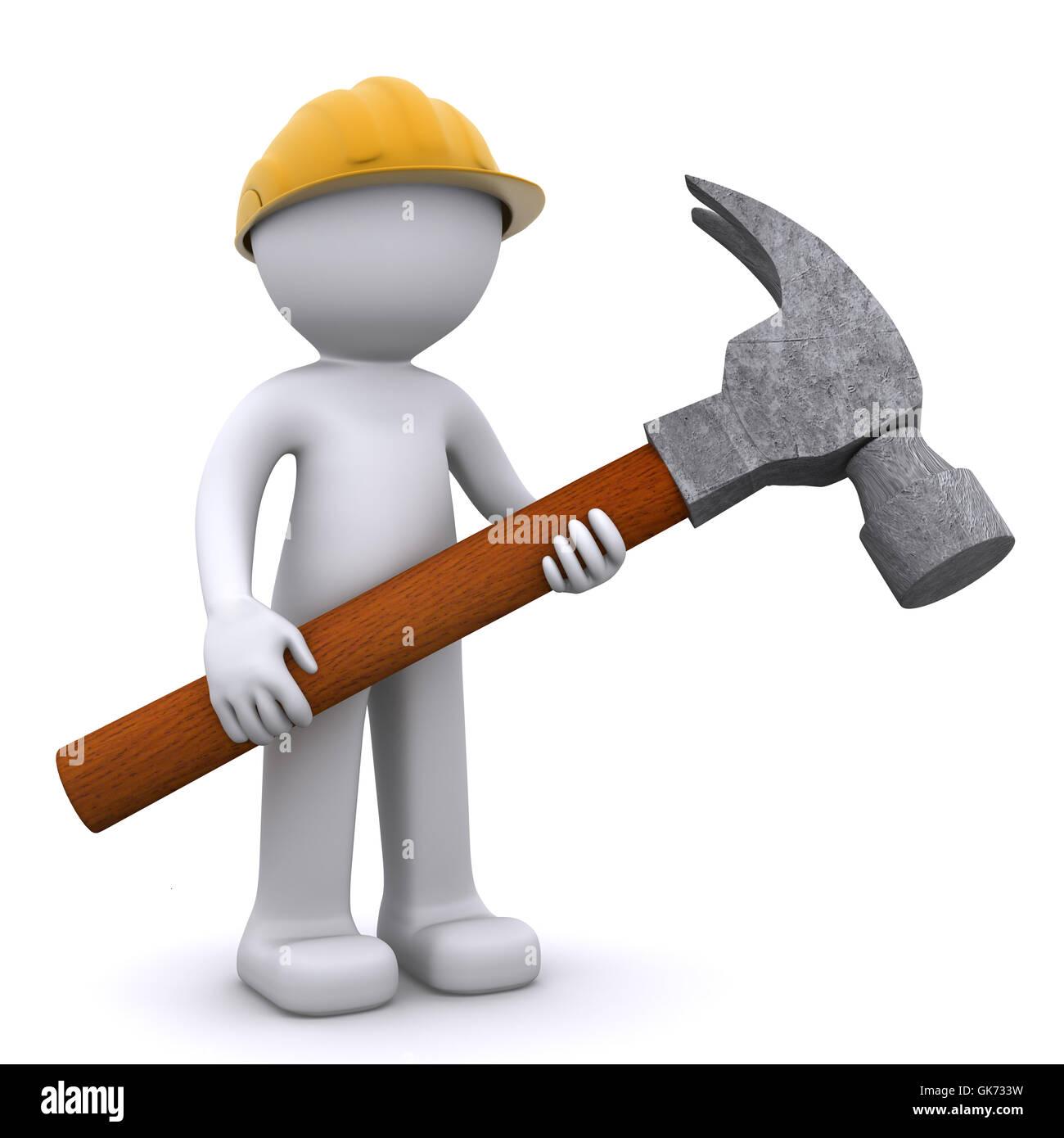 tool mechanic work - Stock Image