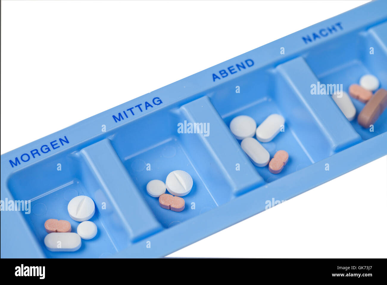 drugs daily dose - Stock Image
