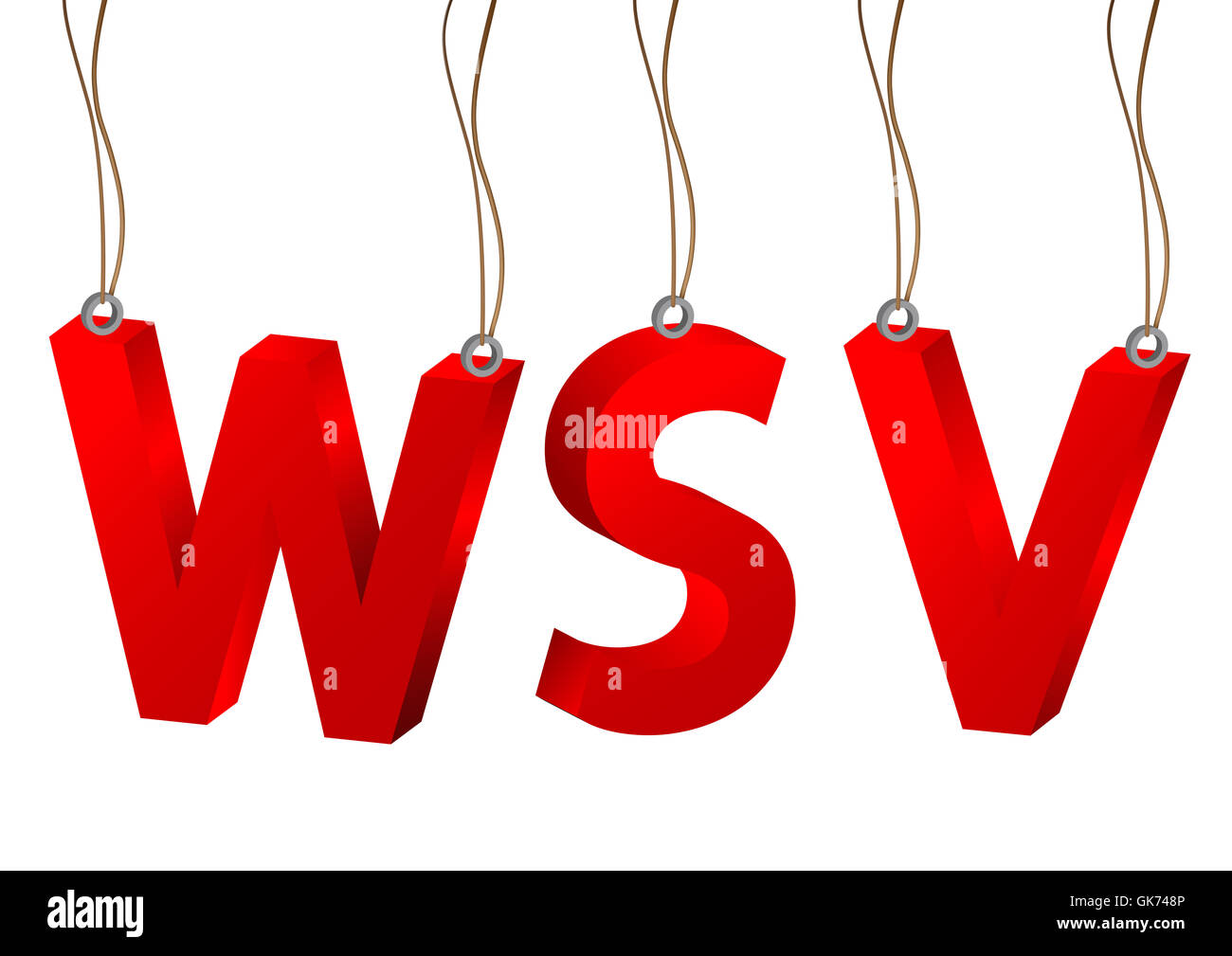 3d wsv - Stock Image