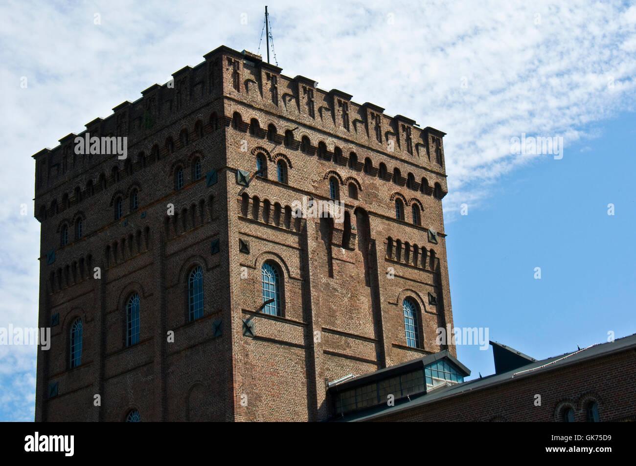 tower shine shines - Stock Image