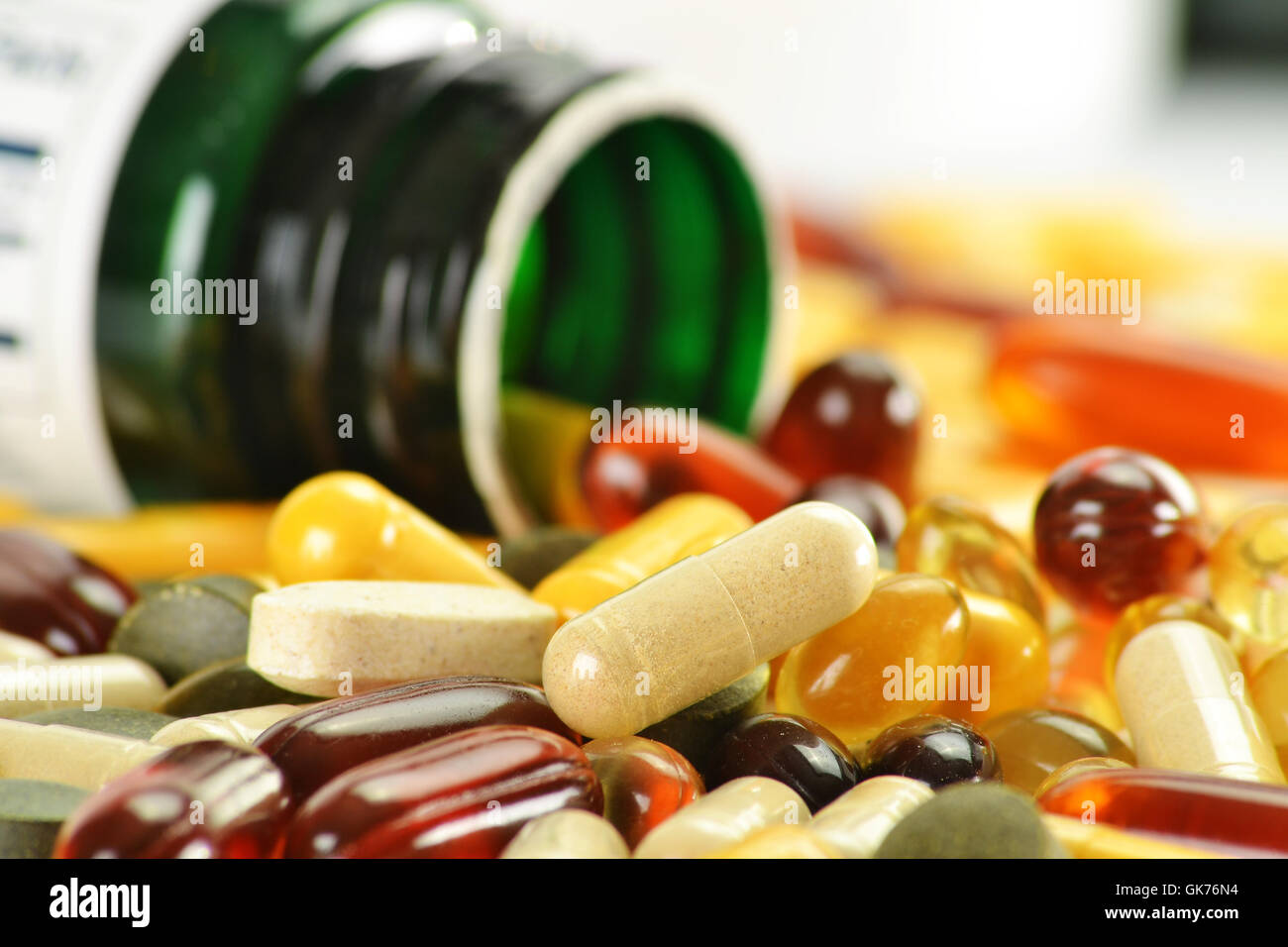 material drug anaesthetic - Stock Image