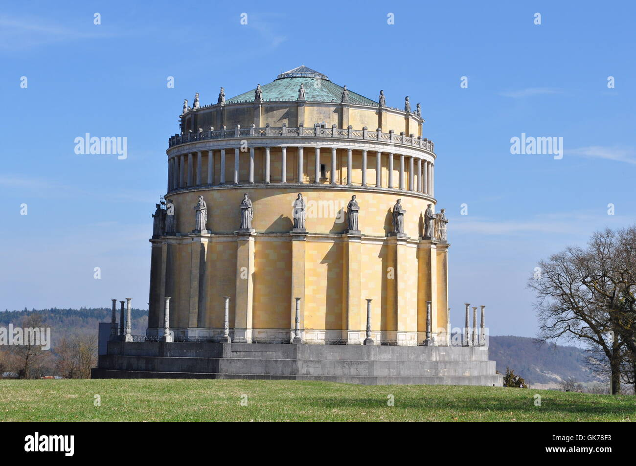 bavaria style of construction architecture Stock Photo