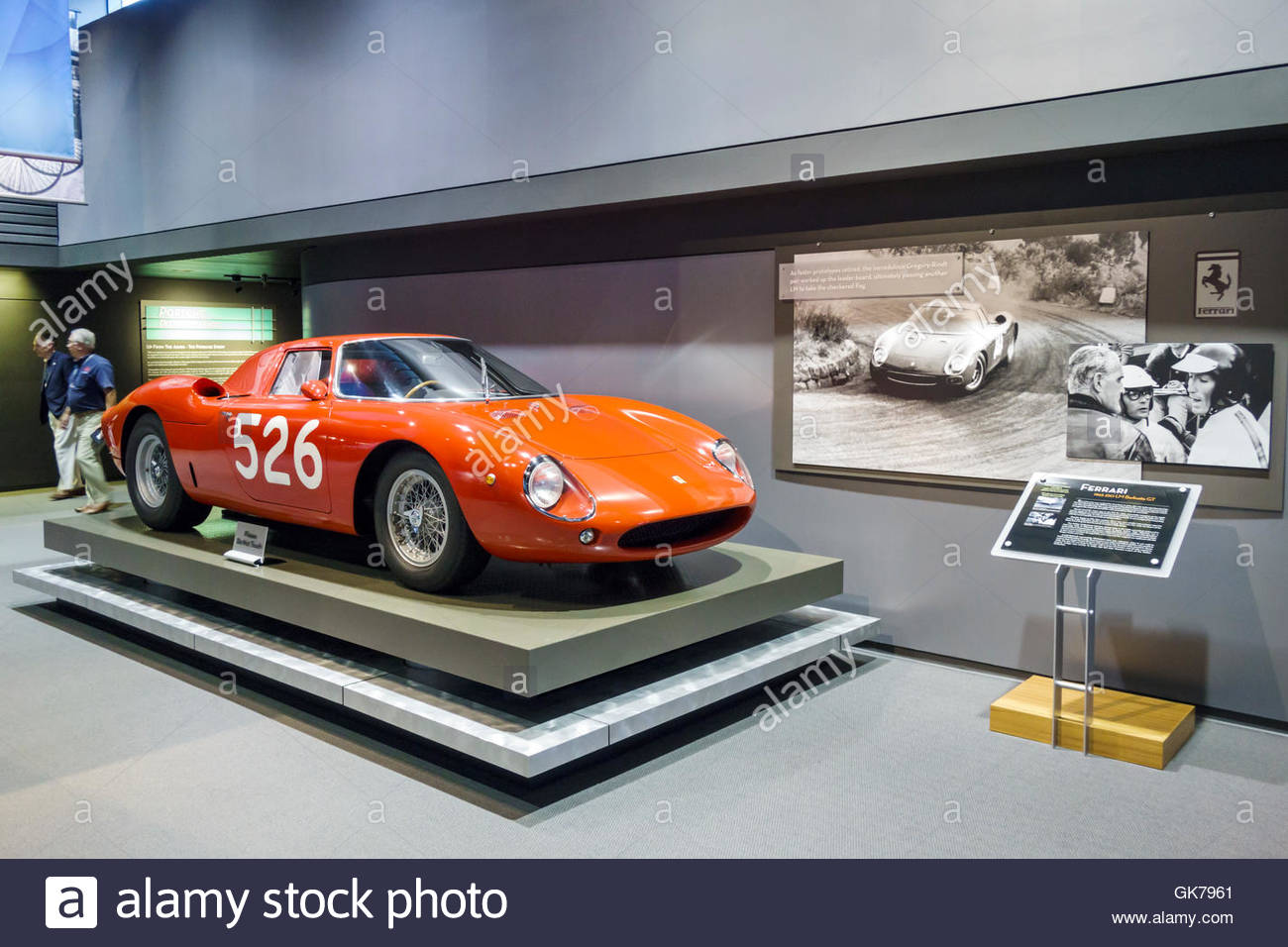 Naples Florida Revs Institute of Automotive Research automotive car museum Miles Collier private collection rare Stock Photo