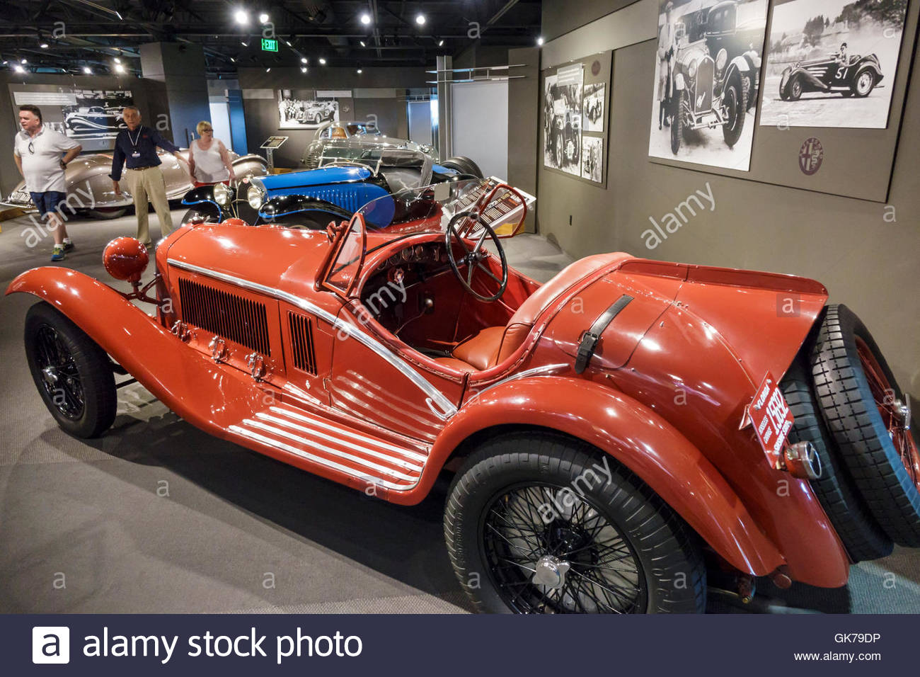 Naples Florida Revs Institute of Automotive Research automotive car museum Miles Collier private collection rare - Stock Image