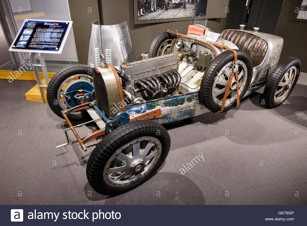 Naples Florida Revs Institute of Automotive Research automotive car museum Miles Collier private collection rare - Stock Image