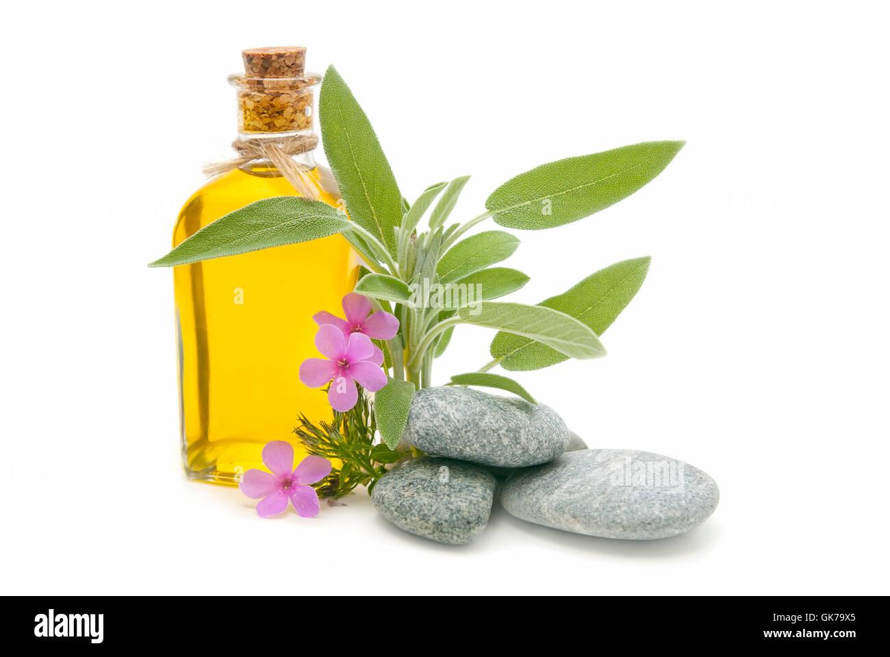 perfume fragrance rocks - Stock Image