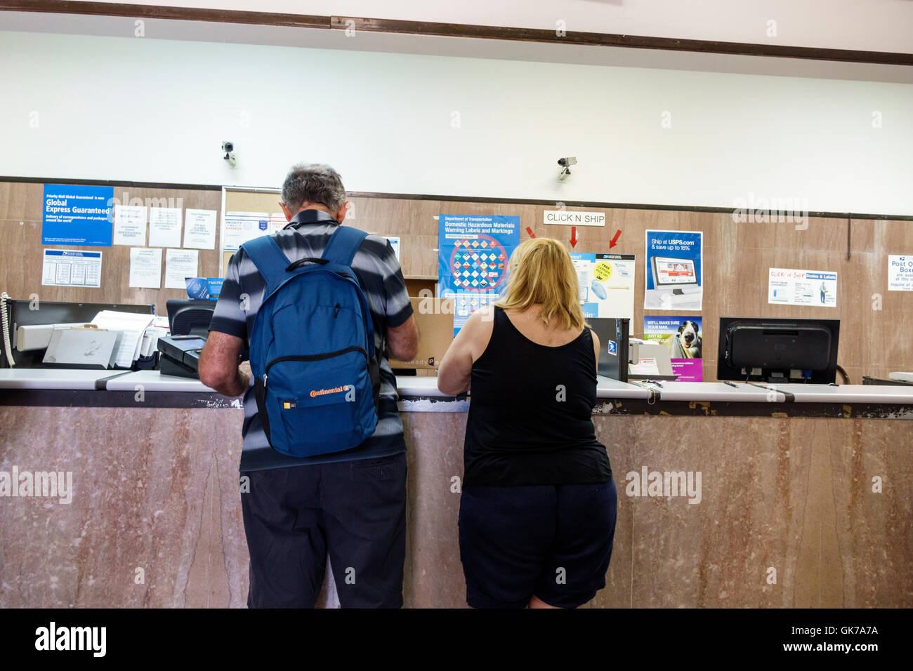 Postal Service Counter Stock Photos & Postal Service Counter Stock