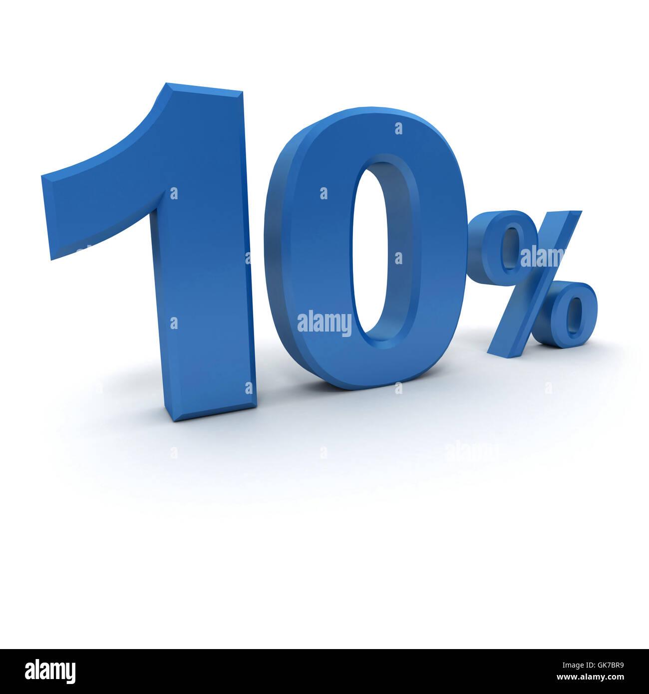 blue calculation model - Stock Image