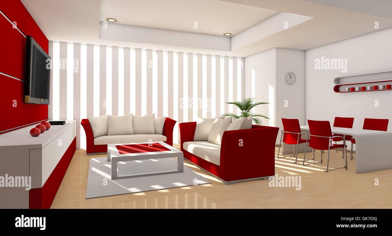 indoor photo modern modernity - Stock Image