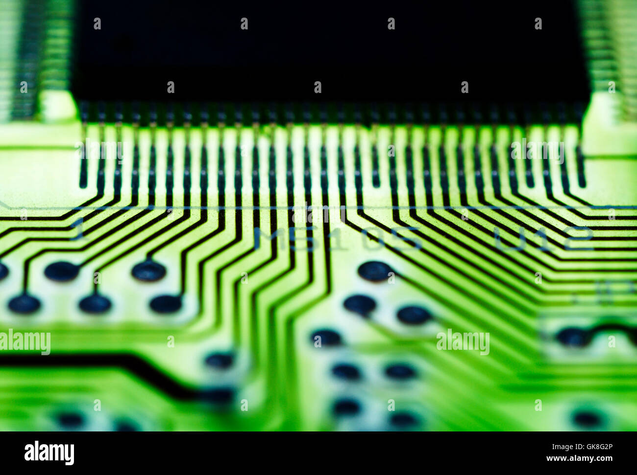 Printed Circuit Card Miniature Stock Photos Pcb 3 Image