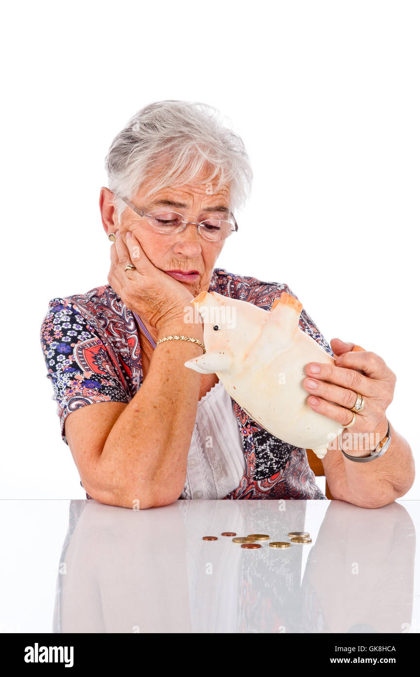 pension - Stock Image