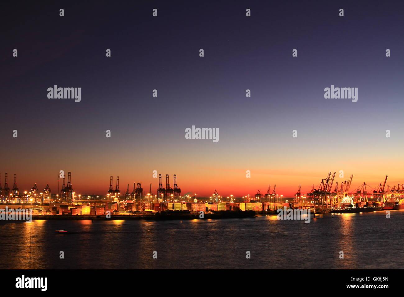 docklands hamburg - Stock Image