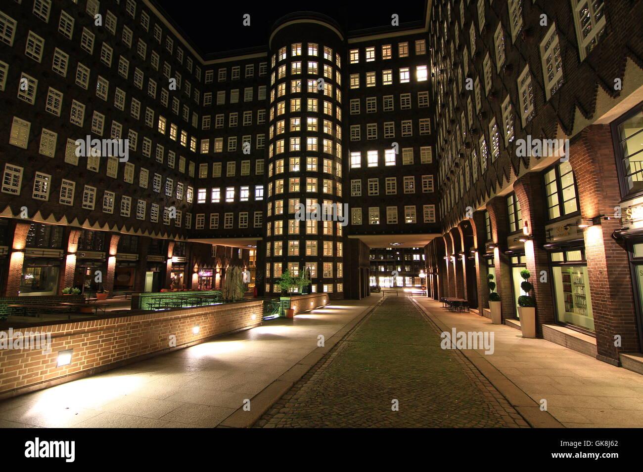 sprinkenhof hamburg - Stock Image
