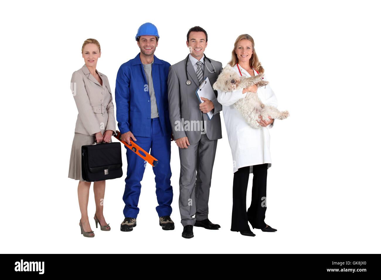 career job health - Stock Image