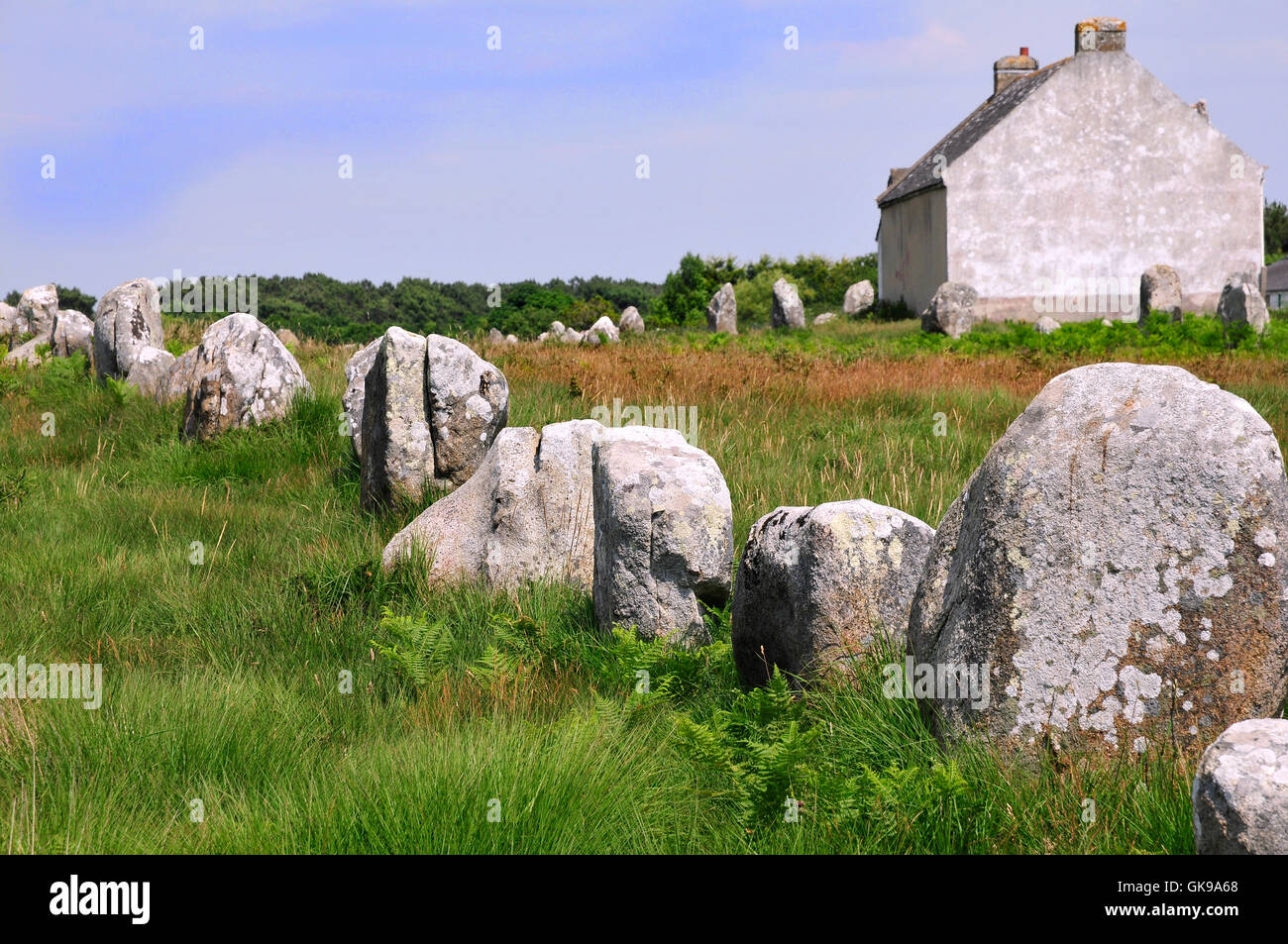 stone france rituals - Stock Image