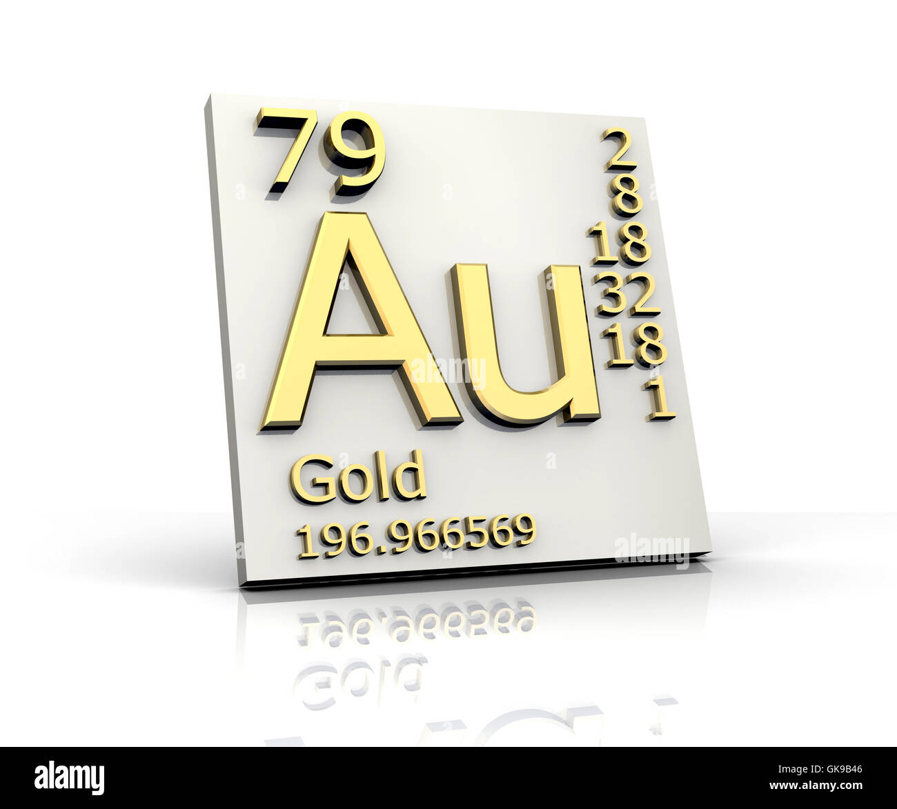 element periodical periodic - Stock Image