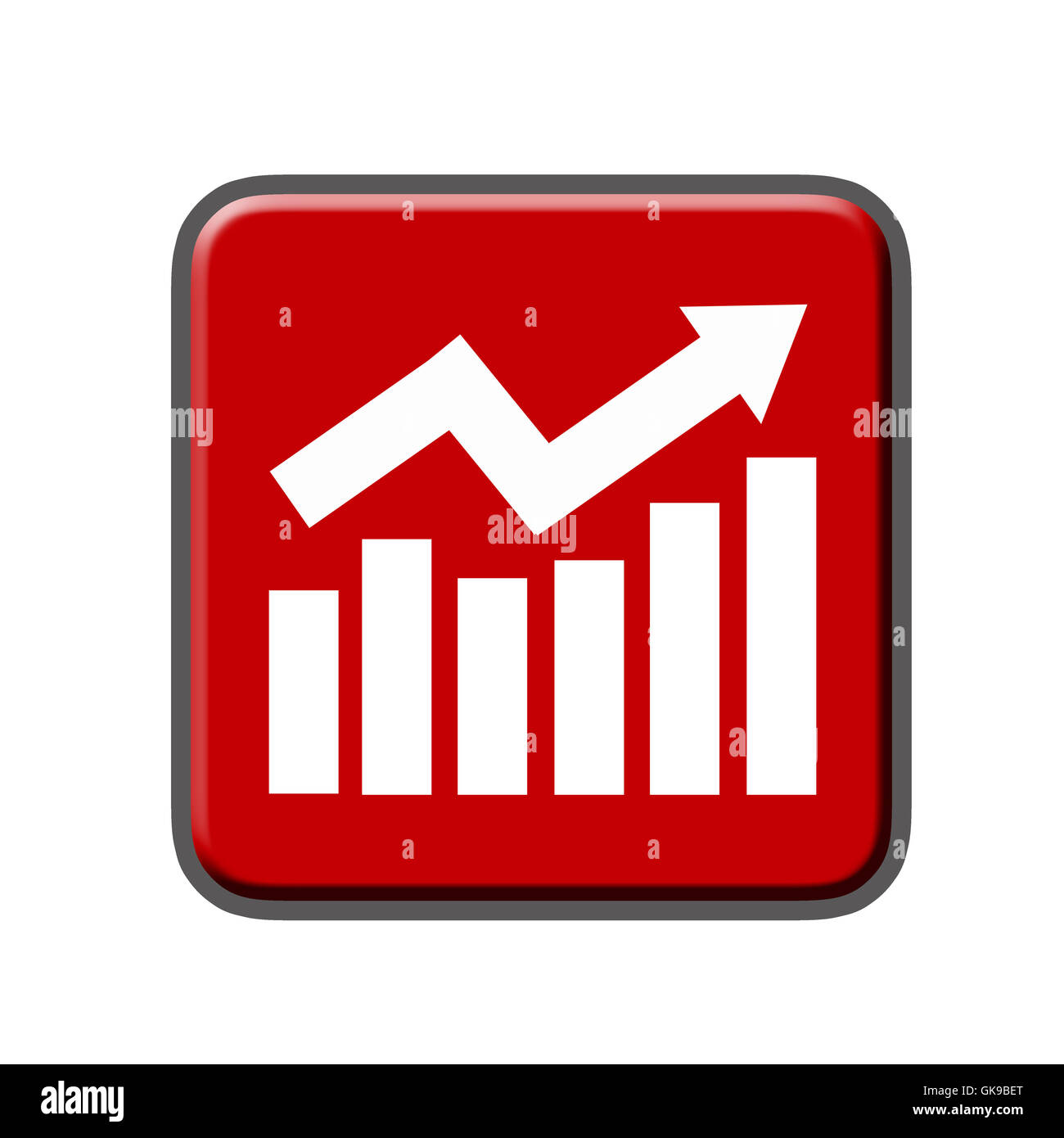 growth grow balance sheet - Stock Image