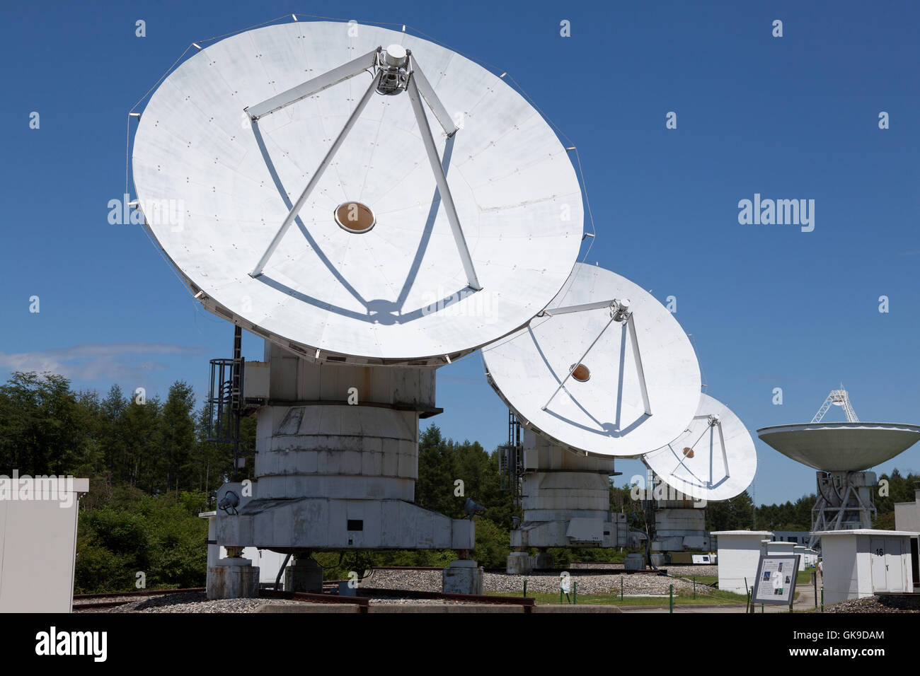 Nobeyama Radio Observatory (NRO) near Minamimaki, Nagano, Japan Wednesday August 17th 2016. - Stock Image