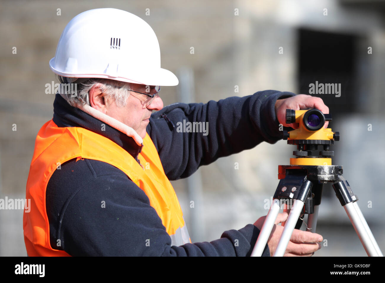 engineering accuracy effort - Stock Image