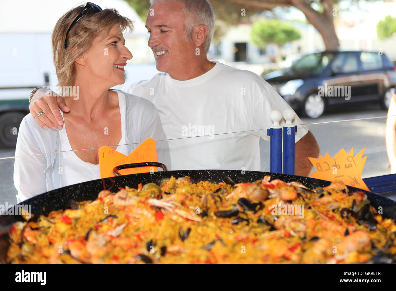 spain adore adoration - Stock Image