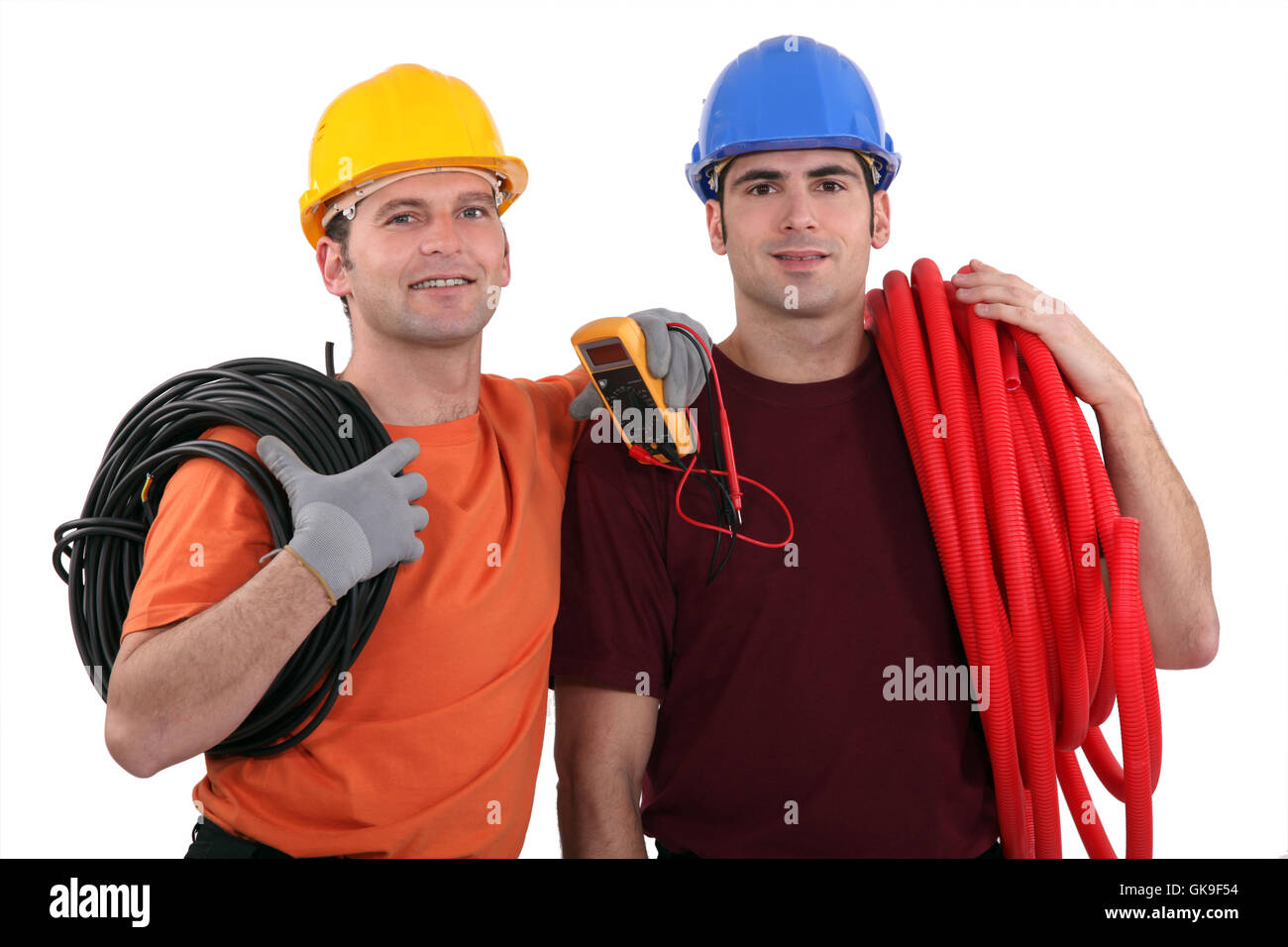 dial ampere cabling - Stock Image