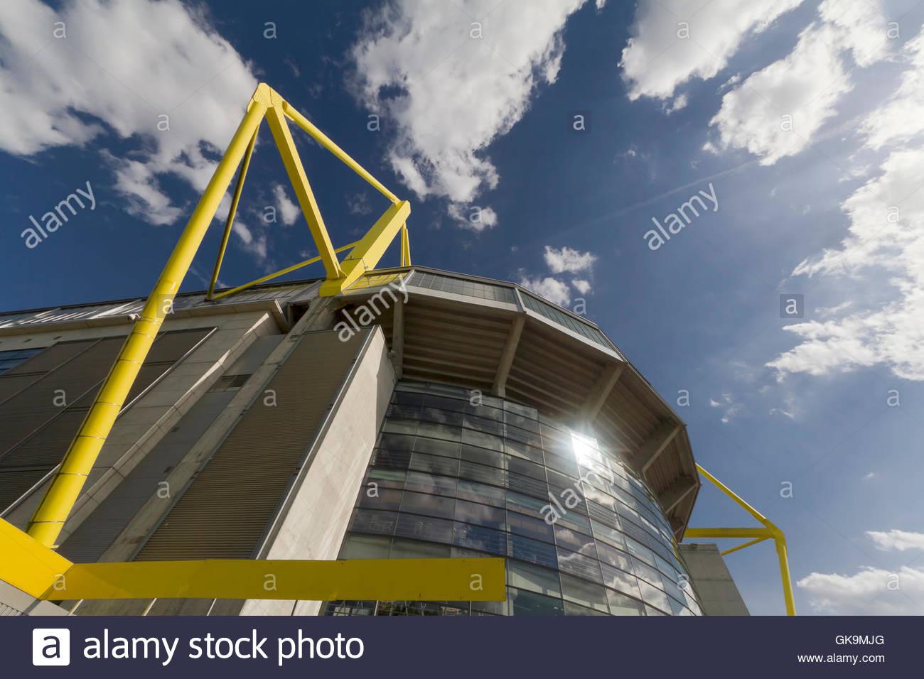 facade stadium motion - Stock Image