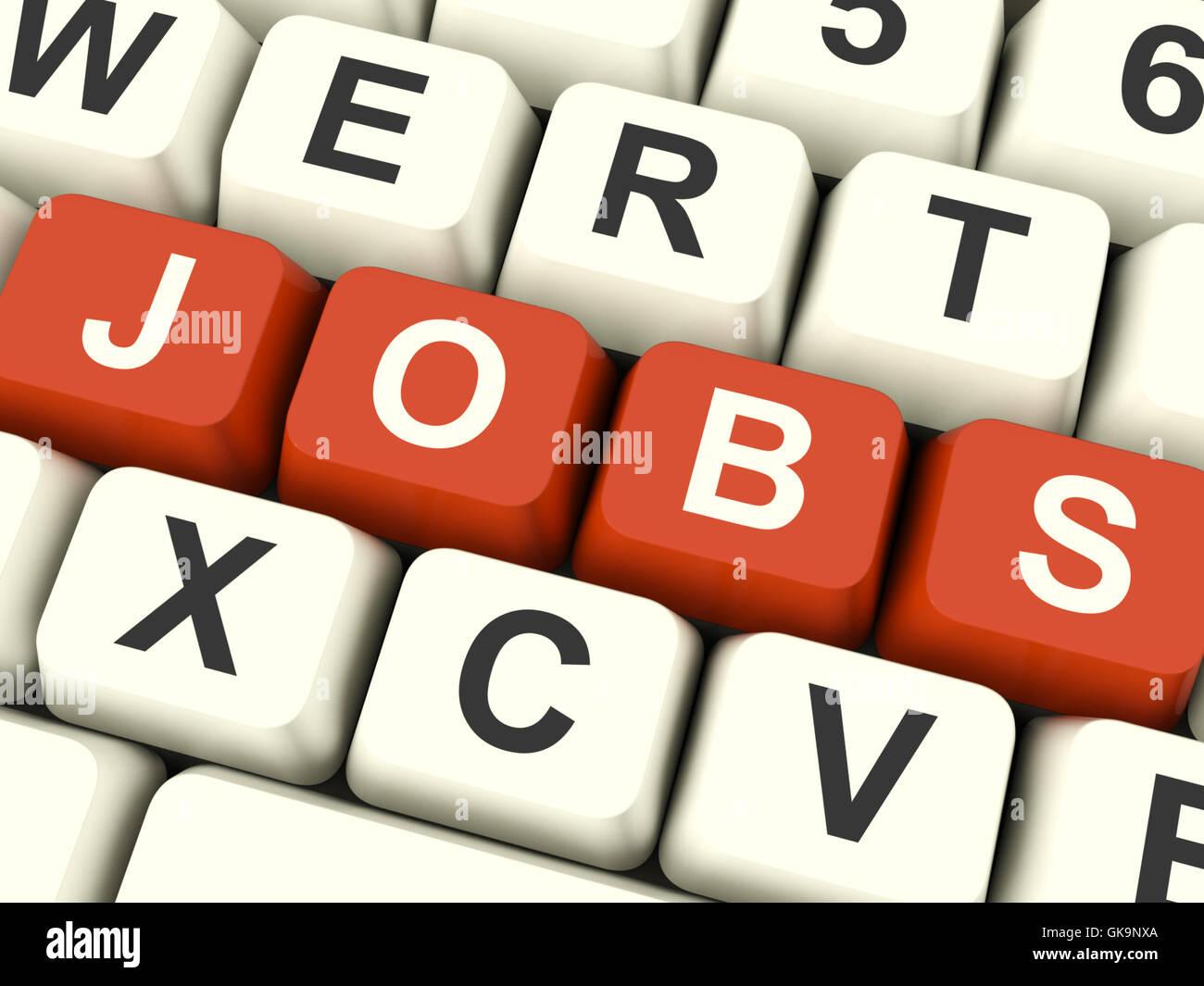 career job employ - Stock Image