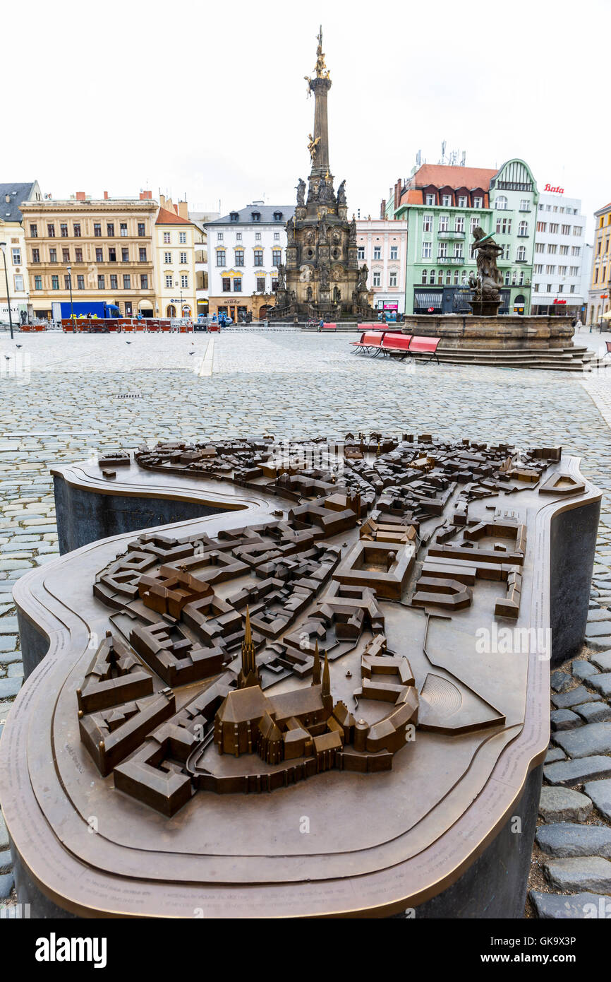 Olomouc City Planning - Stock Image